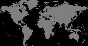 iptv worldwide map